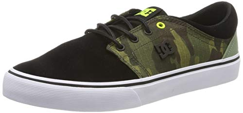 DC Shoes (DCSHI) Trase TX Se Shoes for Men, Zapatillas de Skateboard para Hombre, BlackCamo, 42 EU