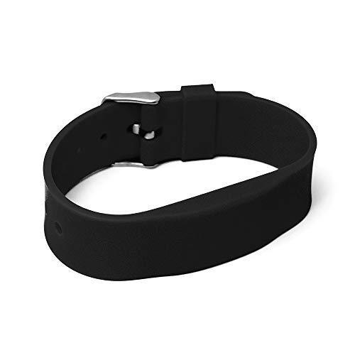 RFID Silikon Armband SILA09a MIFARE DESFire EV2 4K 17pF (13,56MHz) (Schwarz)