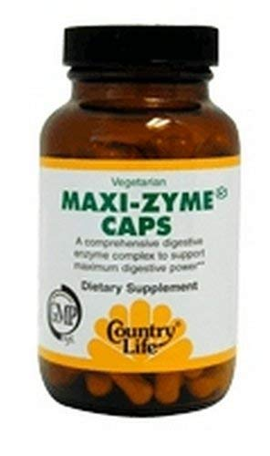 Country Life Maxi-Zyme Extra Strength, 60 Capsules by Country Life