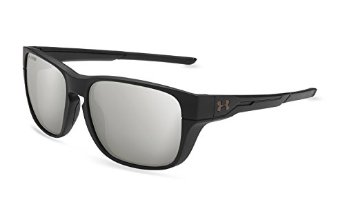 Under Armour Pulse Sunglasses, Black / Gray Lens