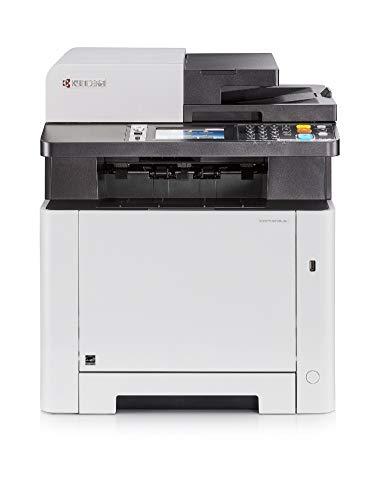 Kyocera Klimaschutz-System Ecosys M5526cdw Farblaser Multifunktionsdrucker (Drucker, Kopierer, Scanner, Faxgerät. Inkl. Mobile-Print-Funktion) Amazon Dash Replenishment-Kompatibel
