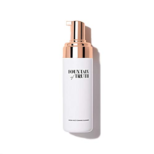 Fountain of Truth Fresh Face Foaming Cleanser – Daily Face Wash for Women & Men – Hydrating, Cleansing AHA Foam Wash Moisturizes & Exfoliates – Clean, Natural & Efficacious Beauty & Skin Care Products