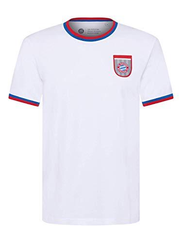 FC Bayern München T-Shirt Retro weiß, XL