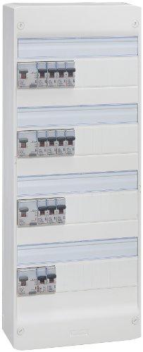 Legrand LEG93012 - Cuadro eléctrico premontado (4 filas, escalable, para viviendas superiores a 100 m2 nuevas o a reformar)