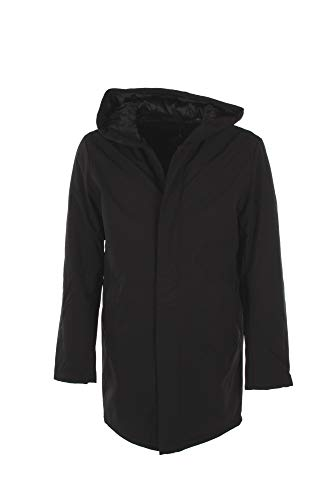 JACK & JONES Jprclimb Parka, Nero (Black Black), Large Uomo