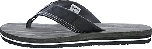 WHITIN Men's Flip Flops with Arch Support   Relaxing Thong Sandals