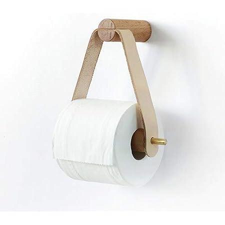 Nordic Creative Porte-Rouleau en Bois Salle de Bains Stockage Papier essuie-Tout Distributeur de Papier Toilette Titulaire boîte Salle de Bains Accessoires