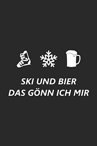 Trainingsbuch für Skifahrer: Stetige Verbesserung mit diesem Trainigstagebuch ♦ Vorlage für über 100 Trainigstage ♦ Planen, üben, umsetzen ♦ 6x9 Format ♦ Motiv: Ski und Bier