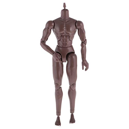 NEDTO Muscular Nude Male Action Figure Models for Artists - Human Mannequin Figure - Perfect Model for Sketching, Painting, Drawing & Decoration