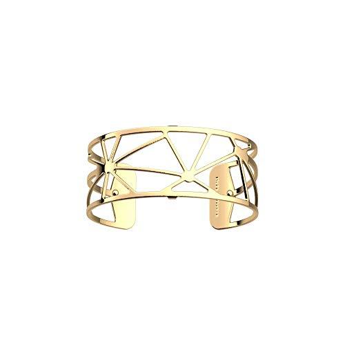 Les Georgettes Damen Armreif - Les Essentielles Solaire Sonne - Medium, Farbe:Gold, Armreif-Breite:25mm