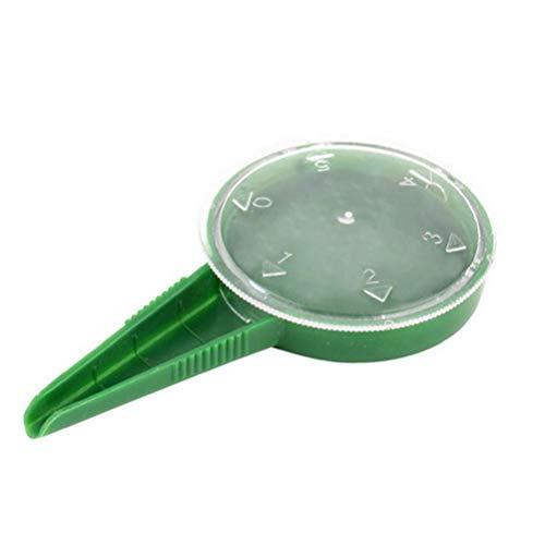 hjgnbiohg Semilla Dispensador Sembrador Separadores De Rama De Árbol Sembradora Herramienta De Mano De Plástico Verde para Suministros De Jardinería De Siembra