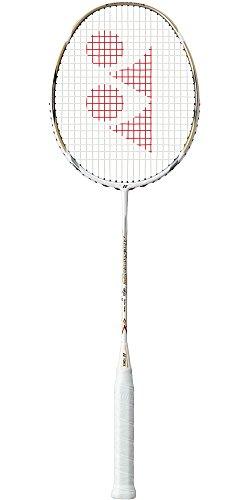 Yonex Arcsaber 10 Badmintonschläger, ohne Besaitung, Weiß