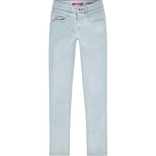 Vingino meisjes High Waist jeans broek Flex fit Brooklyn Light Indigo