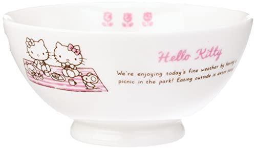 Sanrio Hello Kitty Holiday Bowl diameter 11cm white 309101 -  Kanesho Pottery