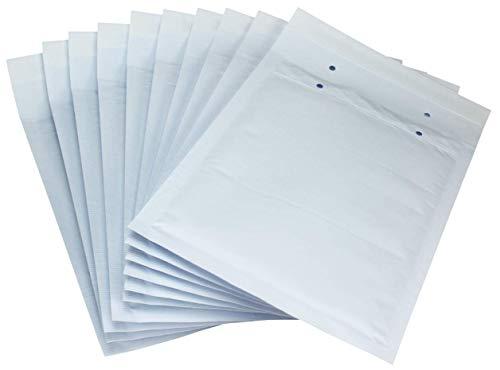 Net4Client Gepolsterte Briefumschläge / Versandtaschen, weiß 140x225mm