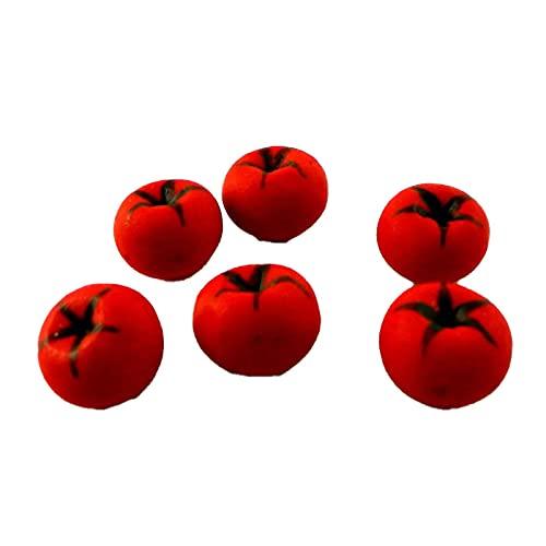 Melody Jane Casa delle Bambole Pomodori Miniatura Cucina Fruttivendoli Accessorio Frutta e Verdure