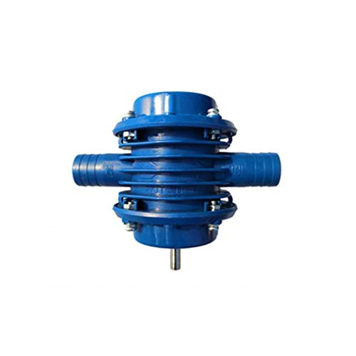 AAGOOD-Miniatur tragbaren Haushalt kleine Pumpe Selbstansaugende Handbohrmaschine Wasser Multi für Garten-Hof Werkzeug Blau angetriebene Pumpe Pumpen bohrt