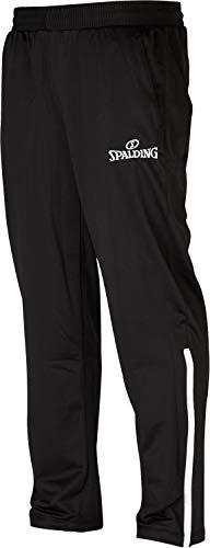 Spalding Mens 300502101_XXXL Pants, Black,White