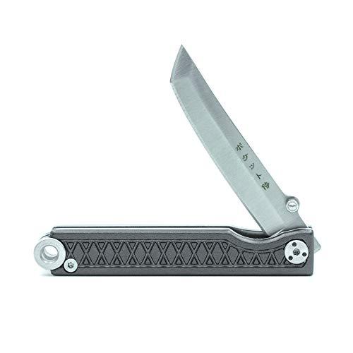 Poche Samurai couteau pliant par Statgear pour EDC–Poignée en aluminium Edition