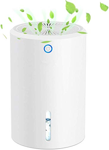 DDGDNNWYX Household Dehumidifier Portable Mini Ultra-Quiet Dehumidifier, 900ml Large Capacity Suitable for Bedroom, Kitchen, Garage, Wardrobe, etc.