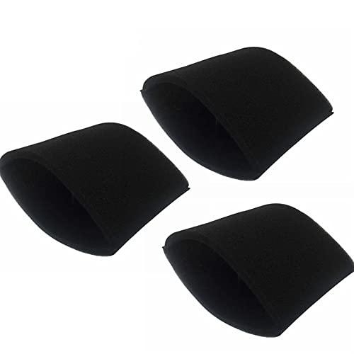 IUCVOXCVB Accesorios de aspiradora 3 unids filtros de esponja aptos para Shop-Vac LB650C QPL650 5+galones seco y húmedo aspiradora accesorios limpieza filtro de espuma duradero