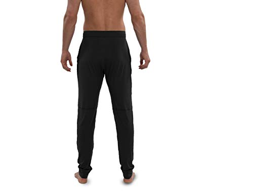 Saxx Underwear Men's Snooze Lounge Pants – Men's Lounge Wear Pants – Ankle Length PJ Pants – Men's Sleep and Lounge Wear