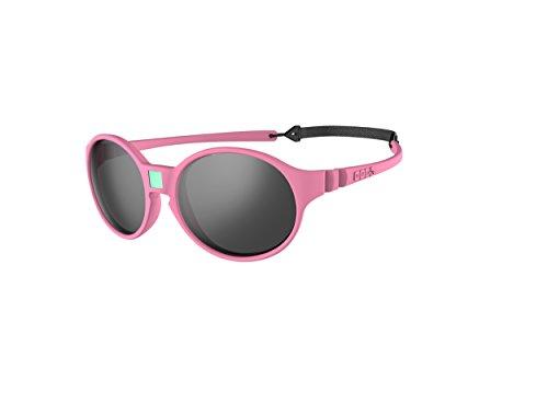 Ki Et La Ki ET LA - Kindersonnenbrille im Stil Jokakids - 100% unzerbrechlich - Rosa - 4-6 Jahre