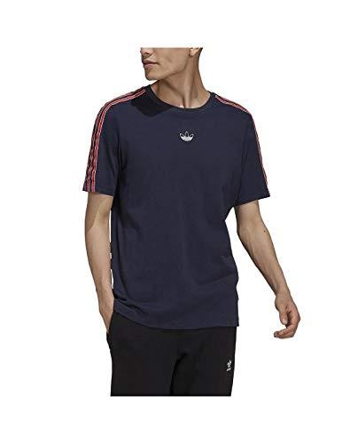 Adidas T-Shirt 3-Stripes SPRT Legend Ink XL - GN2420-XL