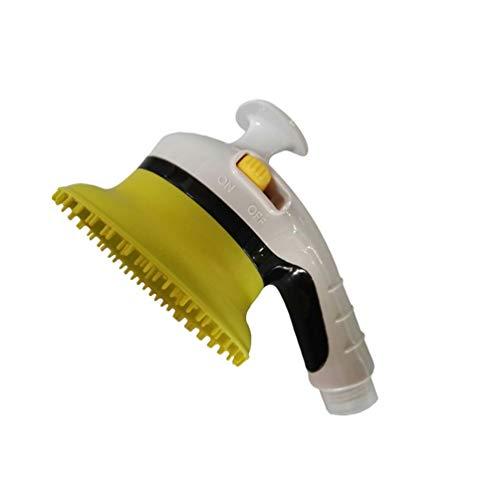Yiqi Multifunktionales Haustier Dusche Sprayer, Duschmassage 2 und 1, Handheld Hund Katze Bürste Baden Werkzeug Pflegenwerkzeug Bath Massager Duschkopf (Stil # 5, 14 x 8cm)