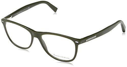 Ermenegildo Zegna Brillengestelle EZ5055 Montature, Verde (Grün), 54.0 Uomo