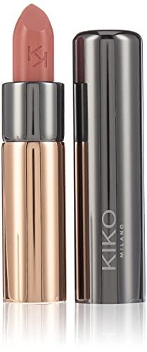 Kiko Milano Gossamer Emotion Creamy Lipstick 101 Barra de Labios Cremosa de Color Intenso, Natural Rose