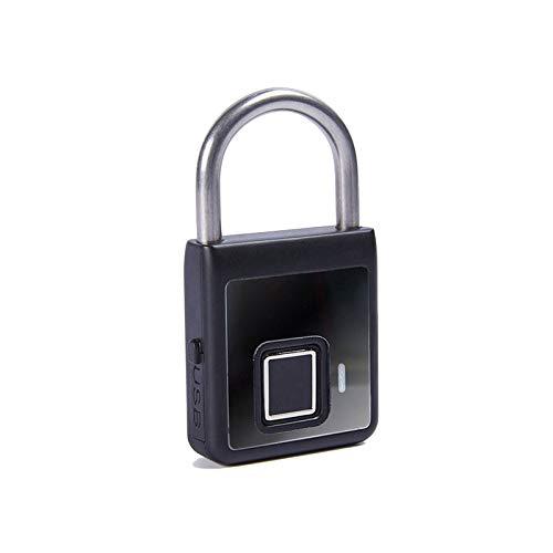 LTJX Cerradura de Puerta Inteligente, 3 en 1 Cerradura de Puerta Inteligente de Seguridad Electrónica, Cerradura de Puerta con Huella Dactilar Bluetooth, Cuerpo de Cerradura Impermeable