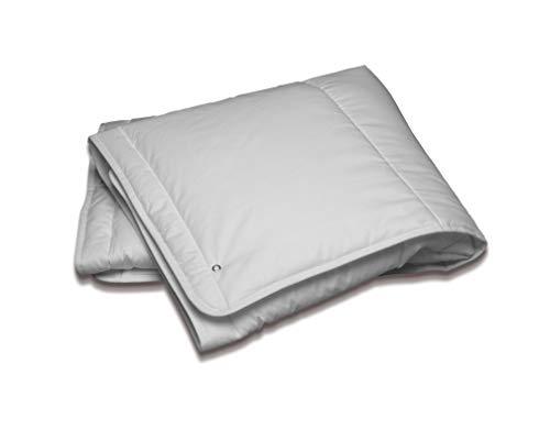 Flex Decke für Babybett, Polyester, Weiß, 120 x 100 cm