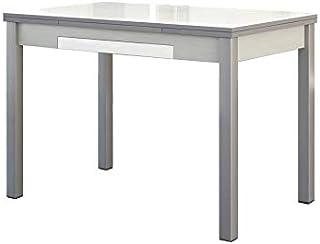 ASTIMESA Mesa de Cocina Extensible con Alas Blanco 50x90cm