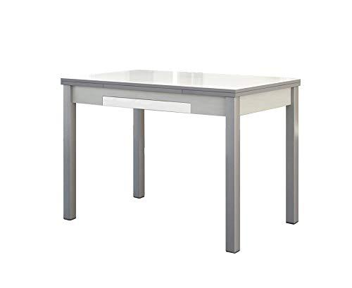 ASTIMESA Mesa de Cocina Extensible con Alas Blanco 50x90cm ⭐