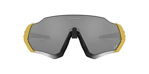 Oakley Gafas de Sol FLIGHT JACKET OO 9401 TOUR DE FRANCE 2020 Trifecta Fade/Prizm Black 37/13/136 hombre