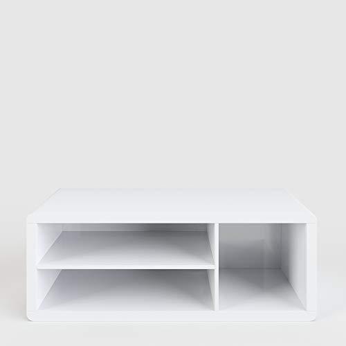Phönix 228815WE Lowboard / TV-Möbel in hochglanz