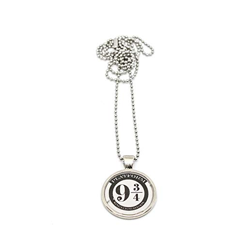 Collana lunga Harry Potter binario 9 e 3/4 da 25 mm