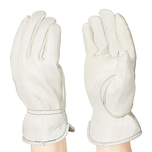 AmazonBasics Leather Work Gloves Now $3.63