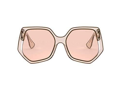 Miu Miu Gafas de sol MU 07VS 06D3D2 Gafas de sol mujer color Beige marrón tamaño de lente 55 mm