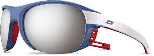 Julbo J5001212 - Gafas de sol para adulto, unisex, azul, blanco, rojo, L