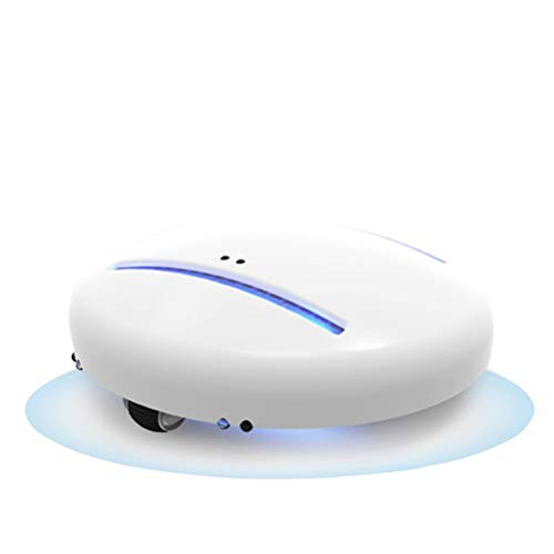 Plushland Portable World's First Bacteria Killing Robot Patent-Pending Smart Robot Anti Dust Mite Auto CleanseBot UV Vacuum Pocket-Sized and Ready for Home Office Travel