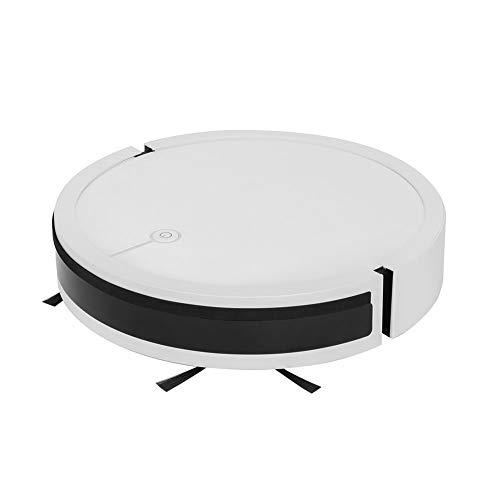 LG Snow Roboter-Staubsauger intelligentes automatisches Nachfüllen von Gyroskop-Routenplanung Sprachsteuerungs-Saugfächer- und Ziehen integrierter Maschine (Color : White)