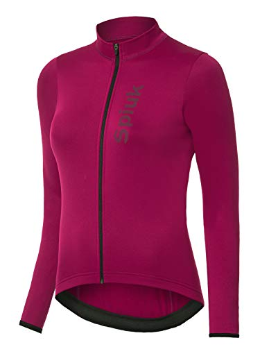 Spiuk Anatomic Maillot M/L, Mujeres, Burdeos
