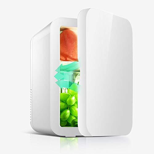 GAOXIAOMEI Mini Nevera Portátil con Capacidad De 8 litros, con Función De Calor Frío para Coche, Caravana, Casa, Oficina Y Dormir, 12V/ 220V