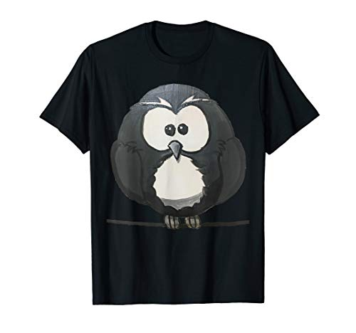 Niedliches Vogel Baby am Kabel Geschenk Tierliebhaber Kinder T-Shirt
