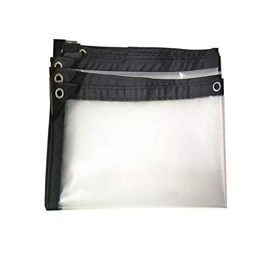 YXB dekzeil waterdicht voor kas Tarp transparante isolatie balkon venster plastic doek FENGMING-yb (kleur : duidelijk, Maat : 2X8m) 2x3M Helder