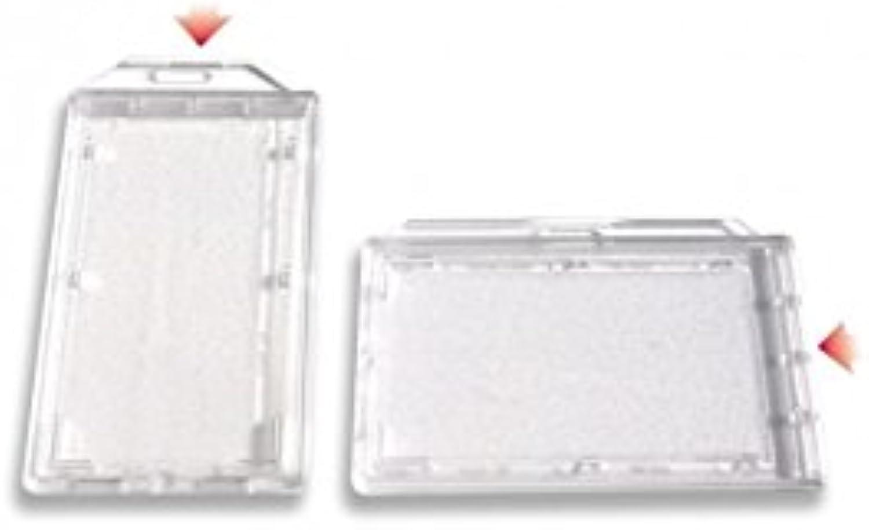 IDM Permanent Cap Badge Holder Holder Holder für hohe Sicherheit (100 Stück) Querformat B015RFDFX6 | Verwendet in der Haltbarkeit  813474