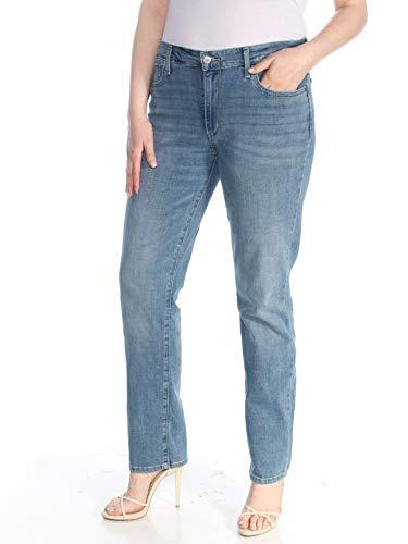 Levi's Women's 712 Slim Jeans, Simple Blue Destructed, 25 (US 0) R