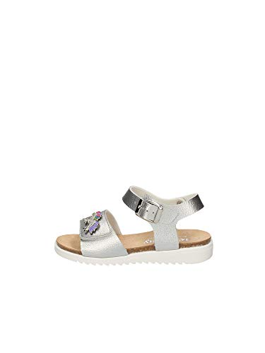 Lelli Kelly Art. LK1500 Sandalo Unicorno Bambino (Argento, Numeric_31)